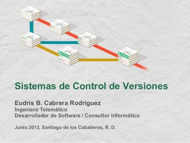 [ES] Sistemas de control de versiones