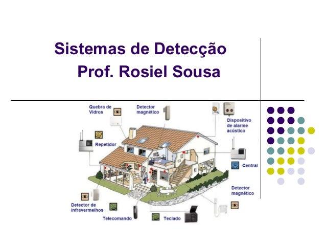 Sistemas de Detecção Prof. Rosiel Sousa