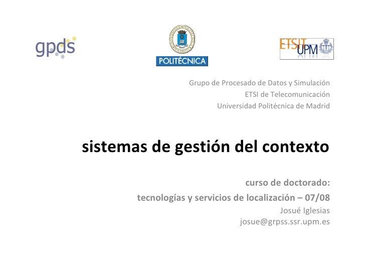 Sistemas de gestión contextual