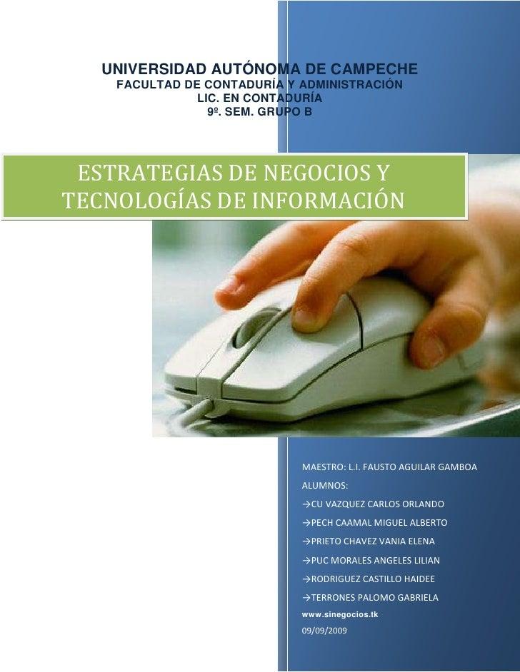 UNIVERSIDAD AUTÓNOMA DE CAMPECHEFACULTAD DE CONTADURÍA Y ADMINISTRACIÓNLIC. EN CONTADURÍA9º. SEM. GRUPO B1200852210118MAES...