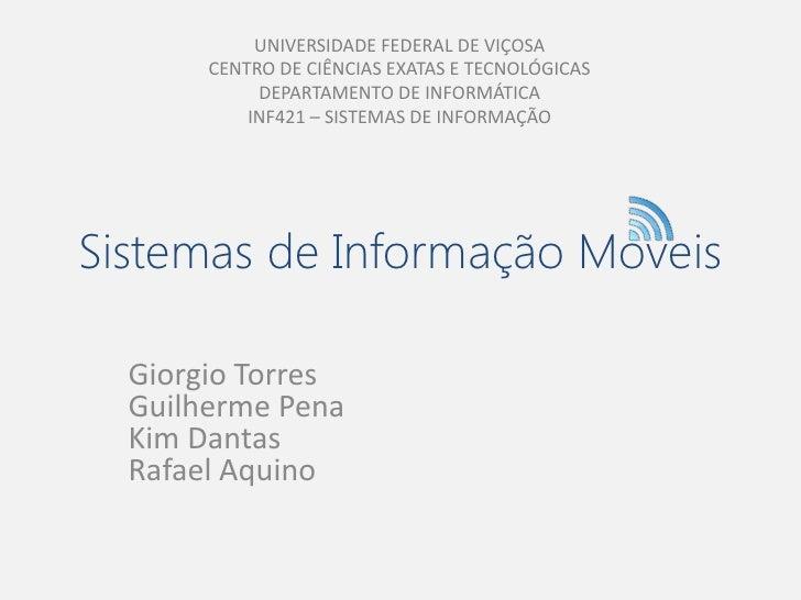UNIVERSIDADE FEDERAL DE VIÇOSA       CENTRO DE CIÊNCIAS EXATAS E TECNOLÓGICAS            DEPARTAMENTO DE INFORMÁTICA      ...