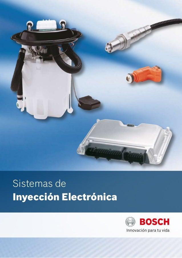 Sistemas deInyección Electrónica