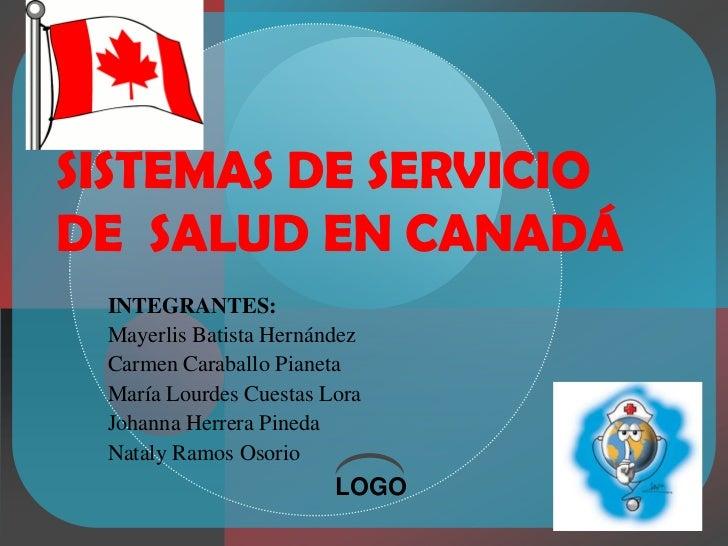 Sistemas de servicio de  salud en canadá