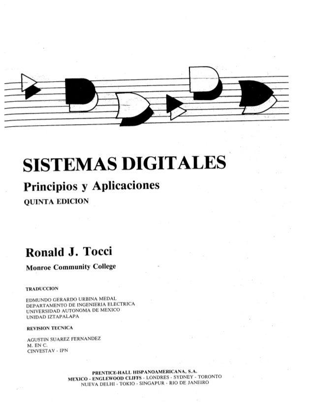 Sistemas digitales principios y aplicaciones   ronald tocci - 5º edición