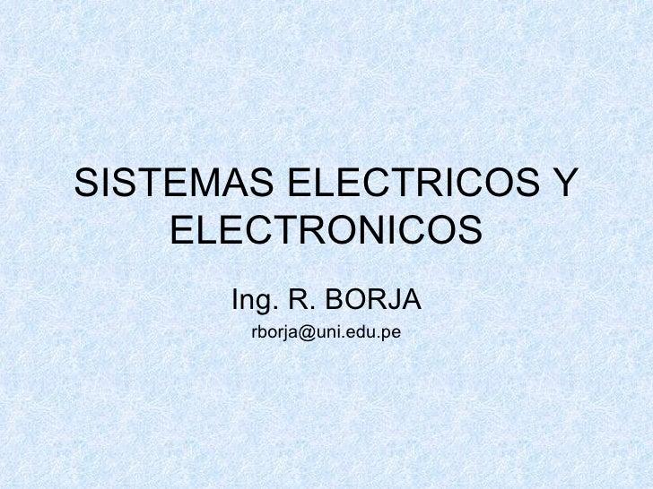 Sistemas Electricos Y Electronicos 01