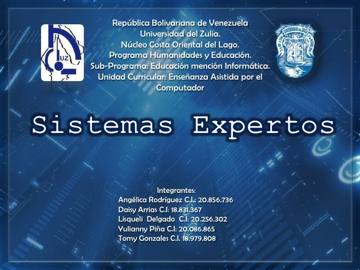 República Bolivariana de Venezuela            Universidad del Zulia.       Núcleo Costa Oriental del Lago.    Programa Hum...