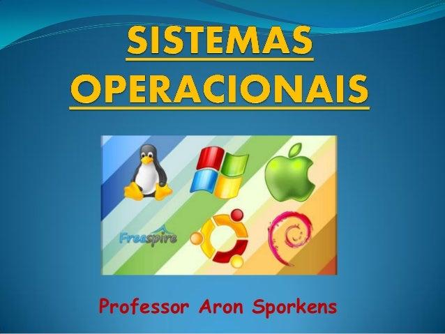 Professor Aron Sporkens
