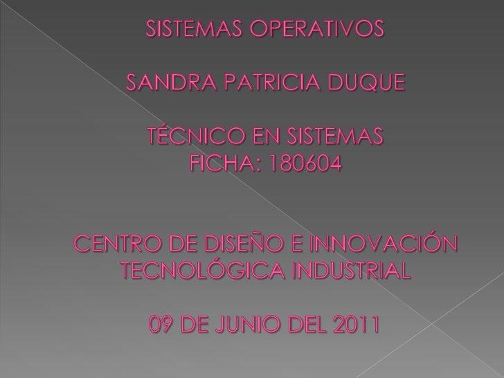 Sistemas operativos 180604 duque