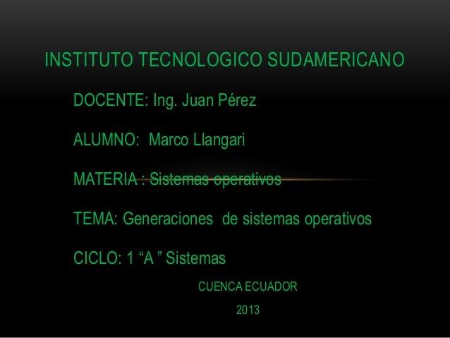 Sistemas operativos2