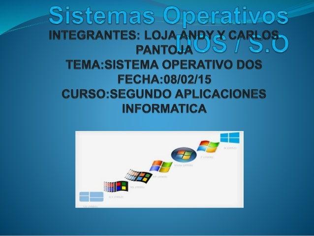 1.-HISTORIA Y VERSIONES DEL S.O
