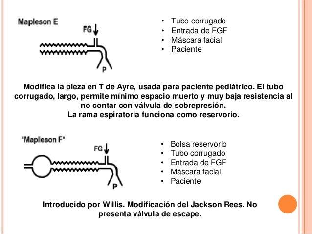 Circuito Jackson Rees : Sistemas y circuitos anestésicos
