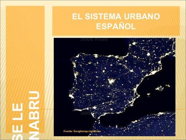 Sistema  urbano 2013