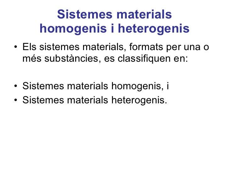 Sistemes materials