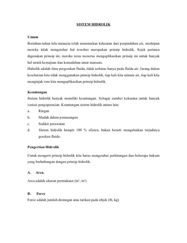 Sistem hidrolik[1]