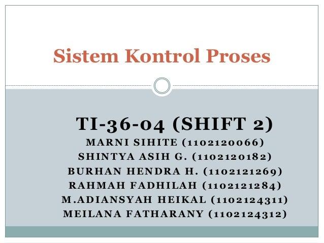 TI-36-04 (SHIFT 2) MARNI SIHITE (1102120066) SHINTYA ASIH G. (1102120182) BURHAN HENDRA H. (1102121269) RAHMAH FADHILAH (1...