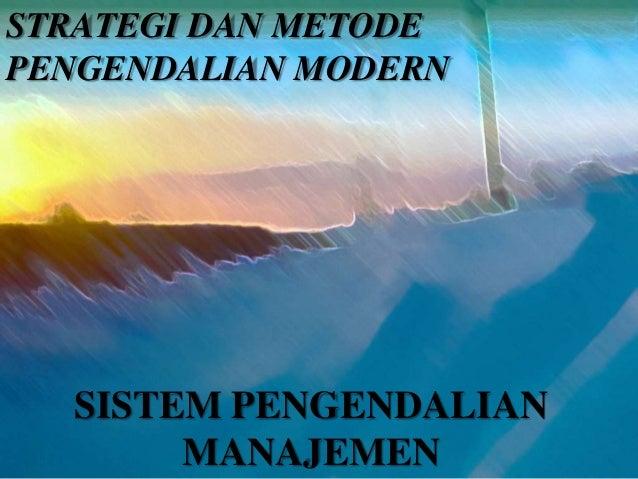 Sistem Pengendalian Manajemen   Share The Knownledge