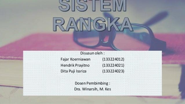 Disusun oleh : Fajar Koerniawan (133224012) Hendrik Prayitno (133224021) Dita Puji Issriza (133224023) Dosen Pembimbing : ...