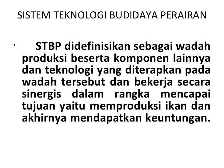 Sistem teknologi bdp