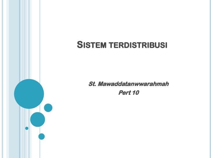 Sistem tterdistribusi (dhaa10)