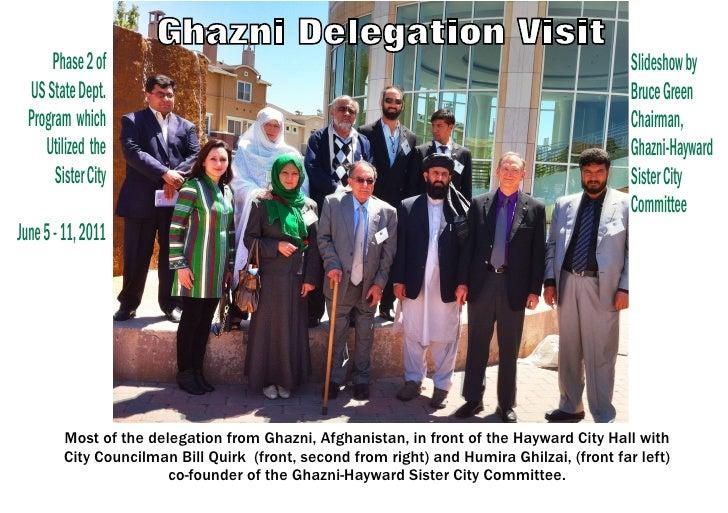 Ghazni Delegation Visit