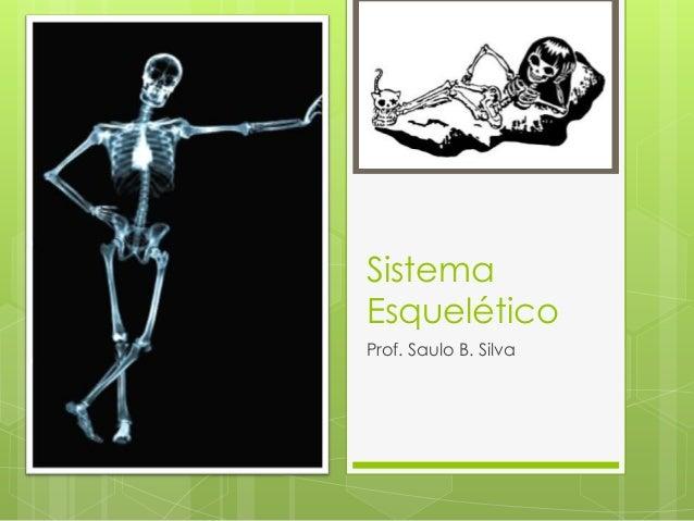 Sistema Esquelético Prof. Saulo B. Silva