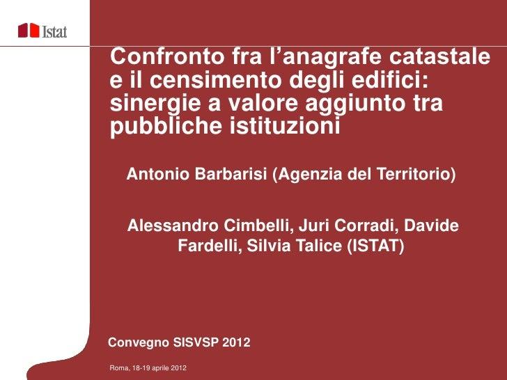 sisvsp2012_sessione16_barbarisi_cimbelli_corradi_fardelli_talice