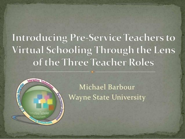 Michael BarbourWayne State University