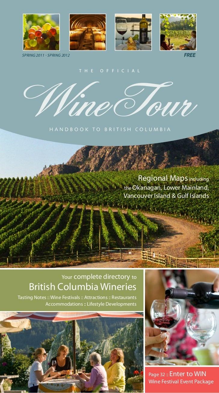 Wine Tour Handbook