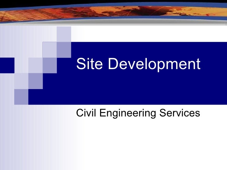 Site Development Civil Engineering Services