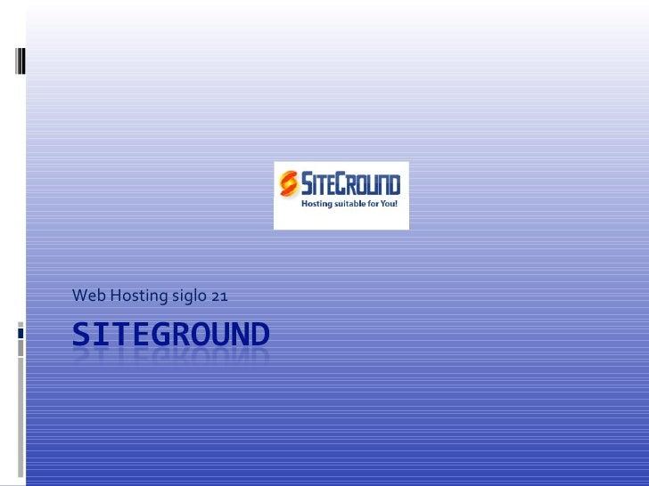 Siteground en Internet