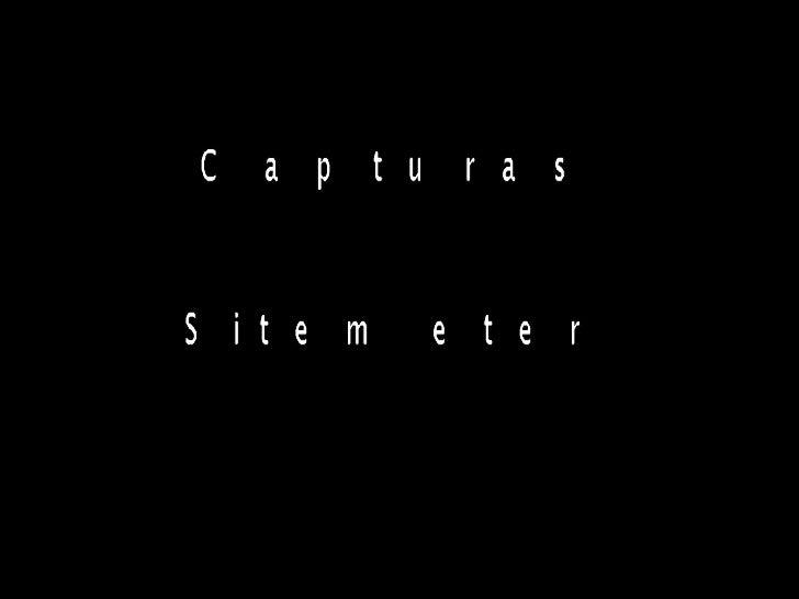 Capturas Sitemeter