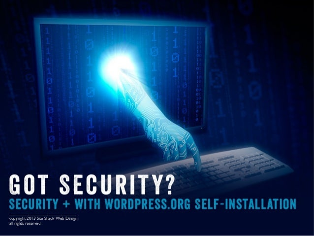 Security + with WordPress.org Self-installation