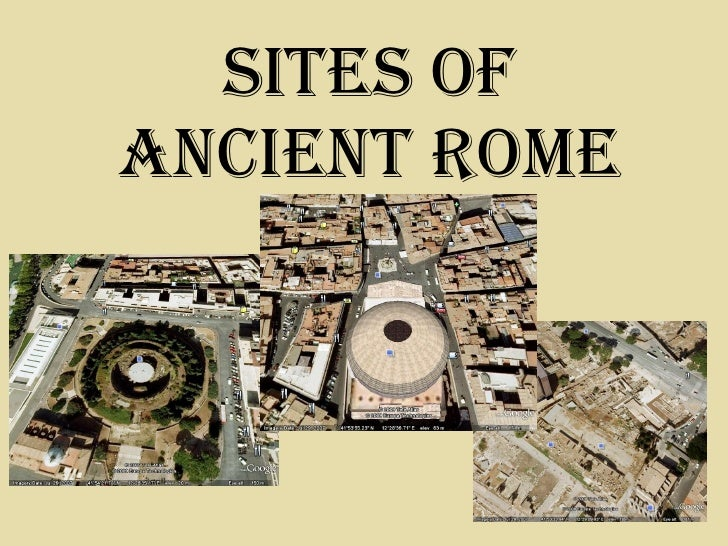 Sites Of Ancient Rome