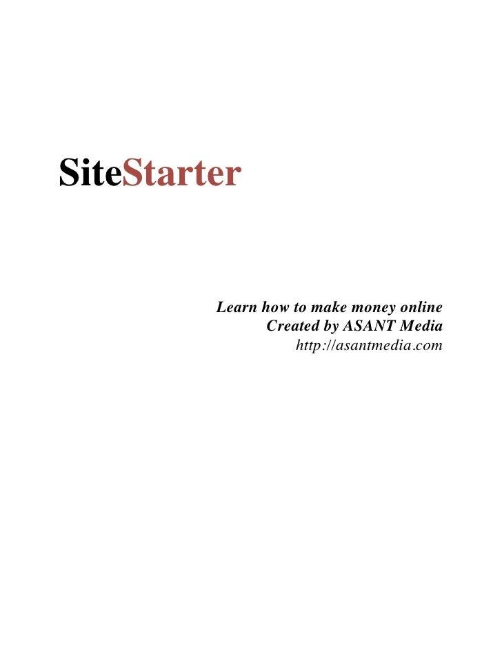 ASANT Media - Site Starter