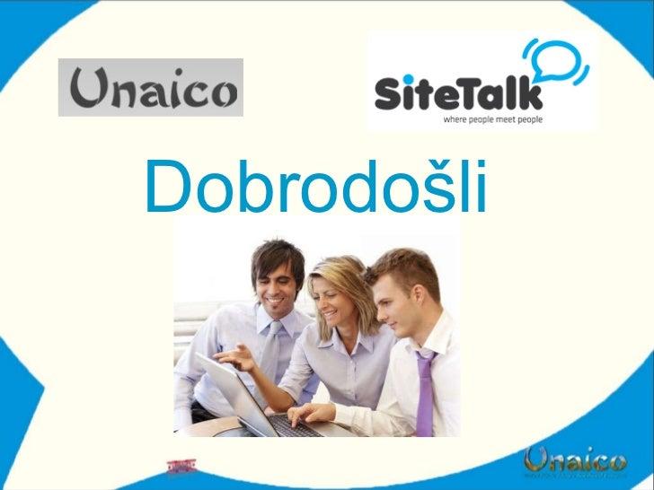 Site talk prezentacija   cro