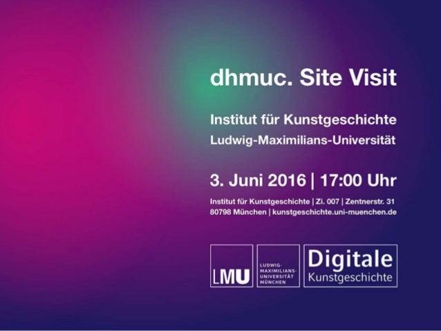 Dr. Harald Klinke, M.Sc. • h.klinke@lmu.de Institut für Kunstgeschichte • LMU München Was ist digitale Kunstgeschichte? 03...