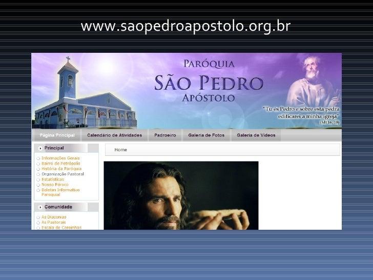 www.saopedroapostolo.org.br