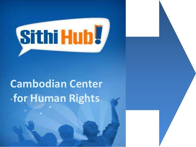 Cambodian Centerfor Human Rights
