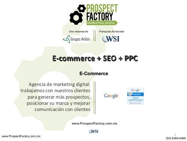 Ventas por internet con e-commerce 4, + SEO y PPC.
