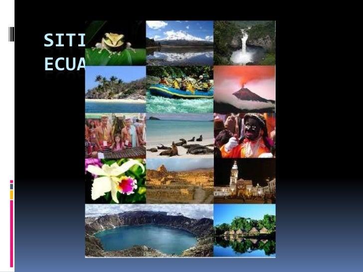 Sitios turisticos del ecuador