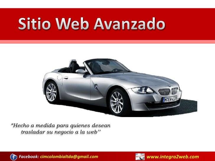 Sitio Web Avanzado