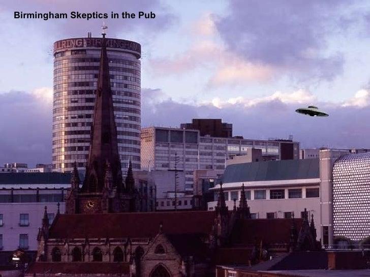 Birmingham Skeptics in the Pub