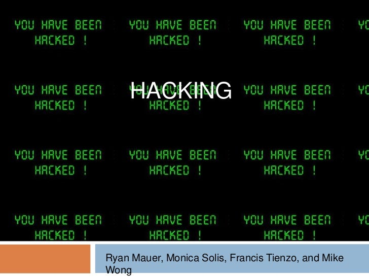 Sit presentation - Hacking