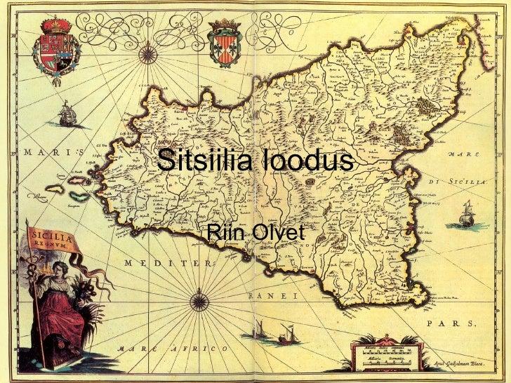 Sitsiilia Geograafia
