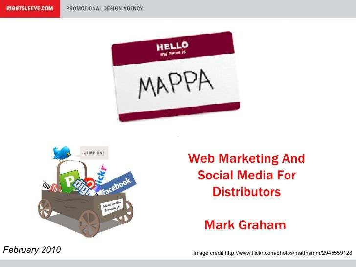 Web 2.0 & Promotional Products - Presentation to MAPPA