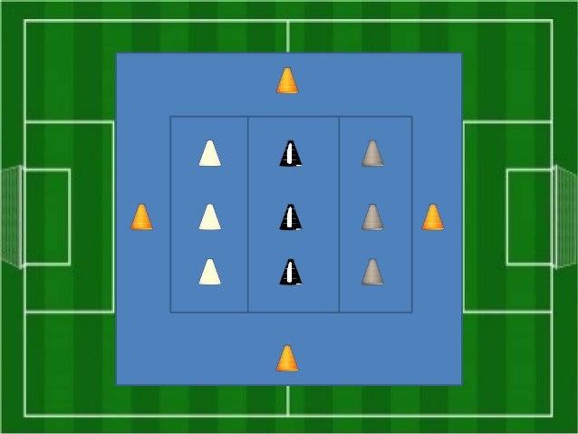 Situación de partido, donde se defiende 3 contra 3, y ataque apoyado por comodines en banda y en el centro del ataque.