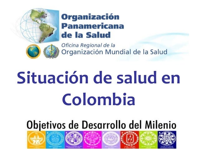 Situacióndesaluden Colombia