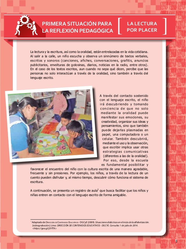 11 1 AdaptadodeDirección de Contenidos Educativos -DGCyE(2009).Situacionesdidácticaseneliniciodelaalfabetización. [videogr...