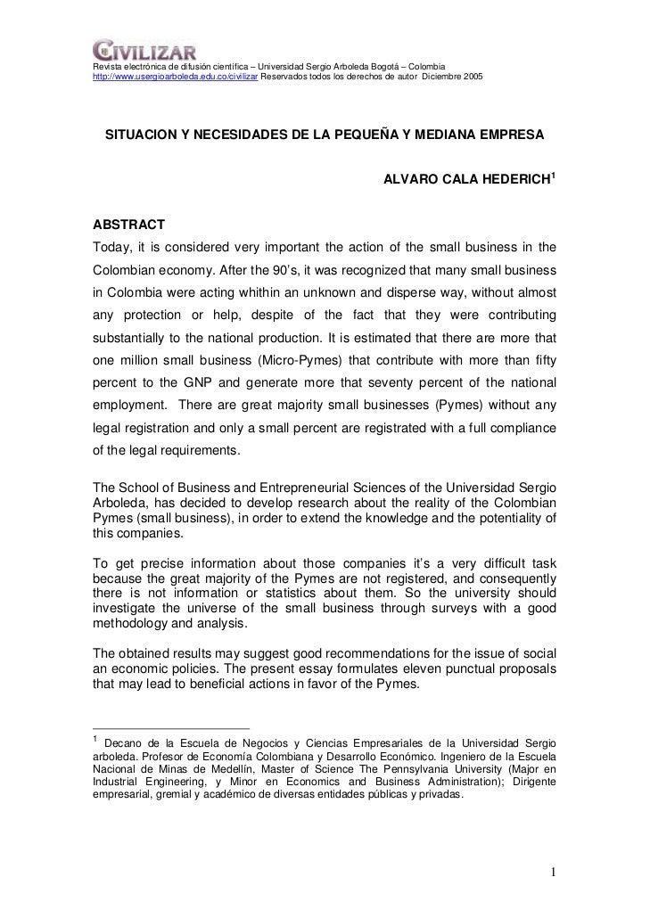 Revista electrónica de difusión científica – Universidad Sergio Arboleda Bogotá – Colombiahttp://www.usergioarboleda.edu.c...