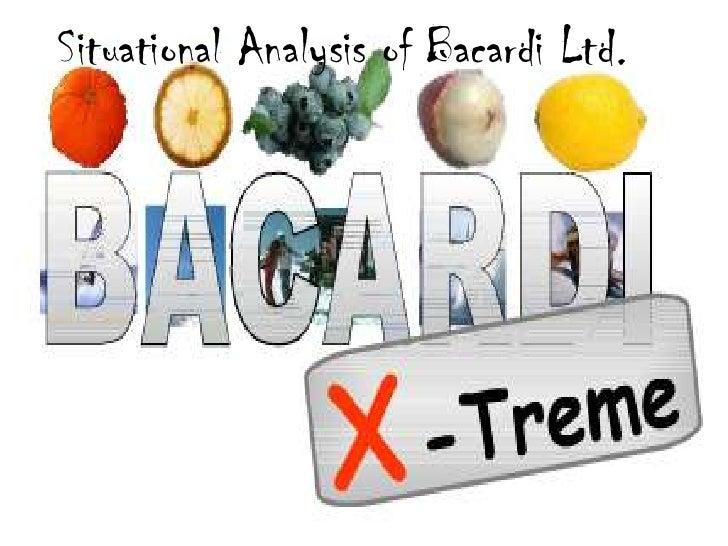 Situational Analysis of Bacardi Ltd.<br />
